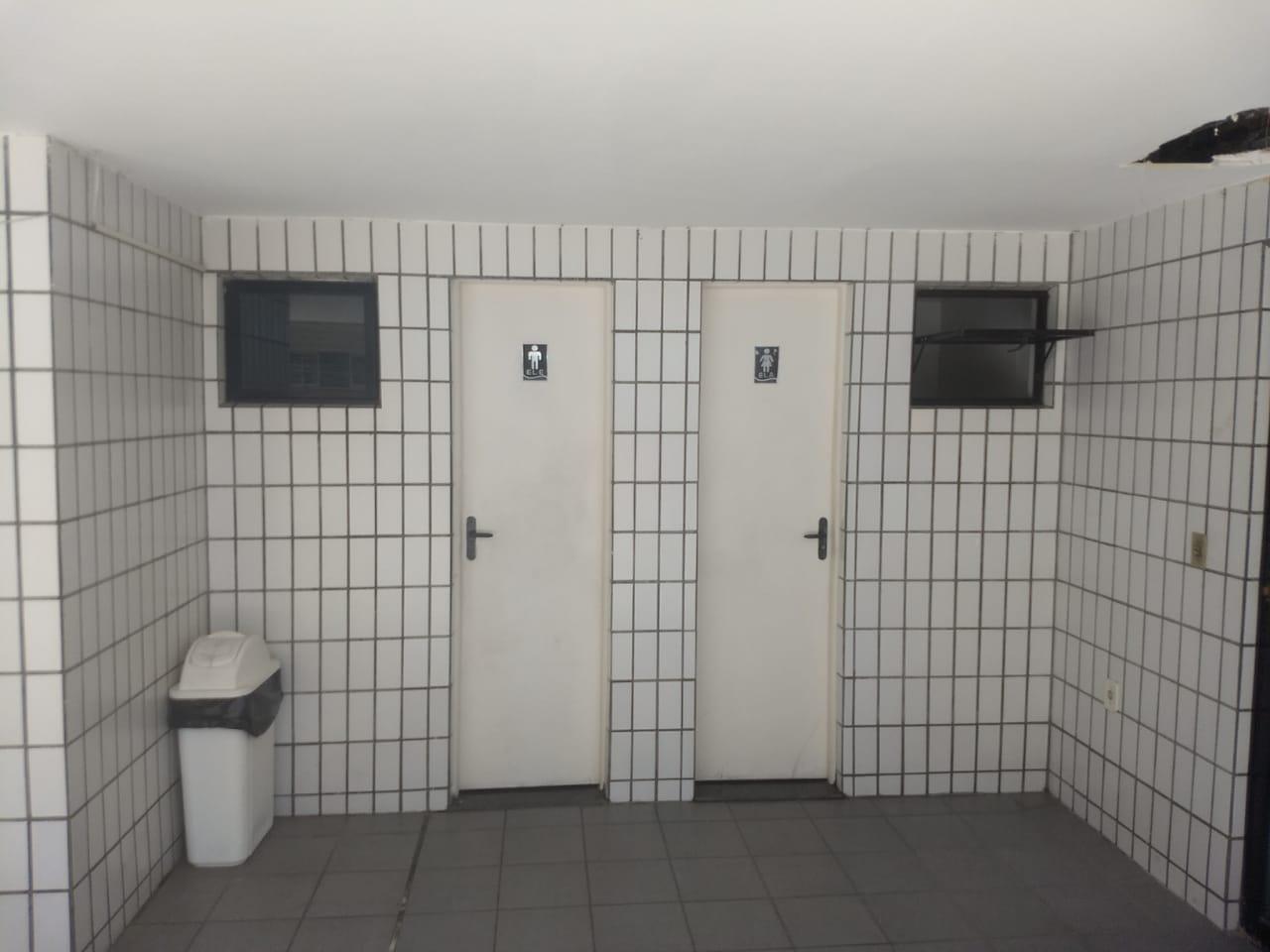 WC'S - FEMININO E MASCULINO