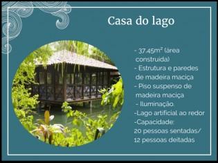 CARACTERÍSTICAS CASA DO LAGO